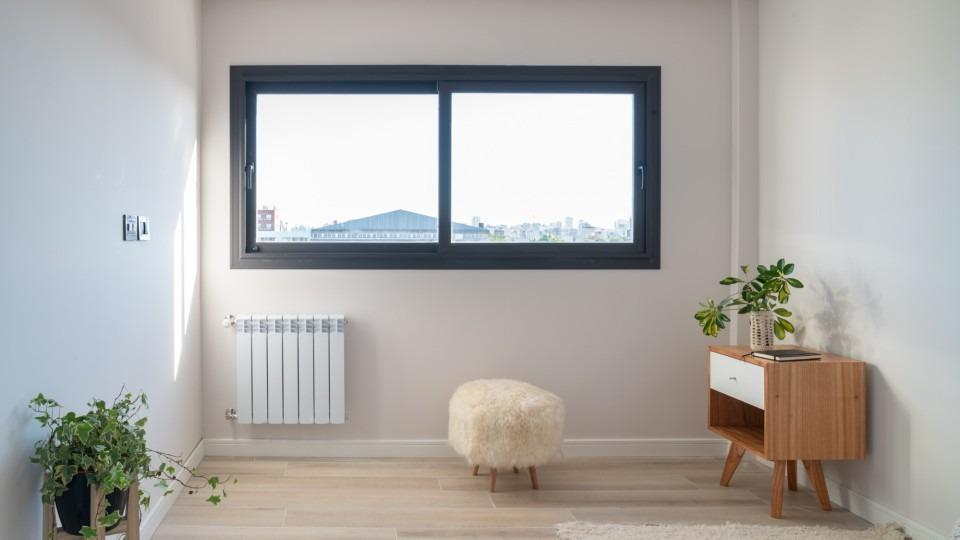 interior, vista ventana